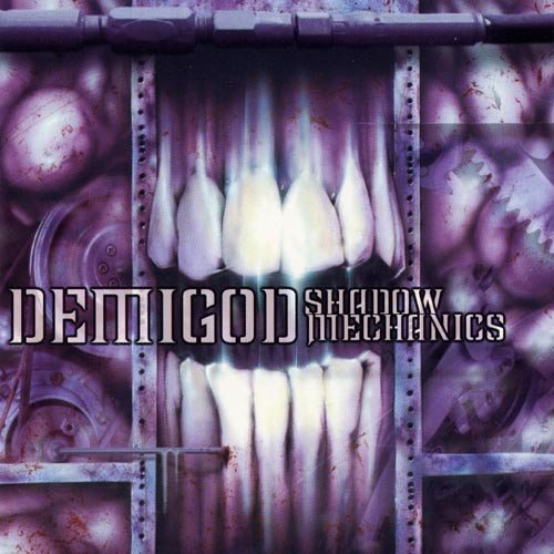 DEMIGOD shadow mechanics CD 2002 BRUTAL DEATH METAL