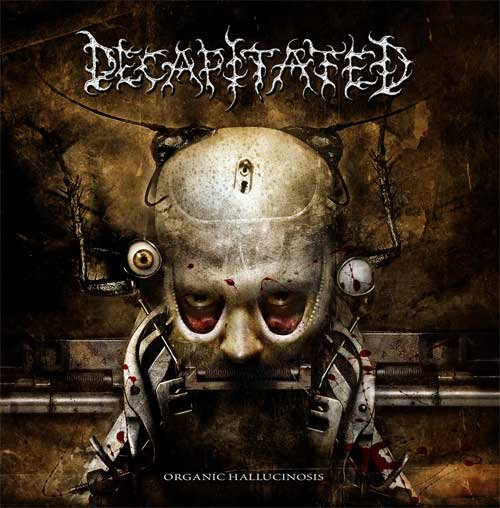 DECAPITATED organic hallucinosis CD 2006 DEATH METAL