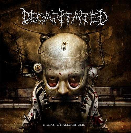 DECAPITATED organic hallucinosis CD 2006 DEATH METAL