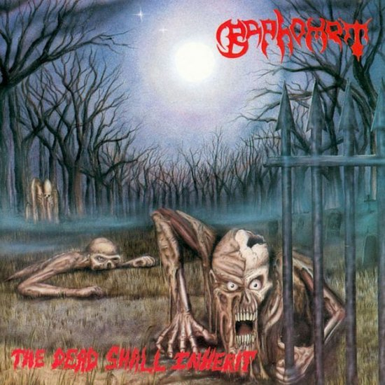 BAPHOMET the dead shall inherit CD 1992 DEATH METAL