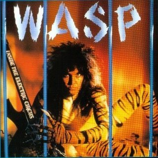 WASP inside electric circus CD 1987 HEAVY METAL