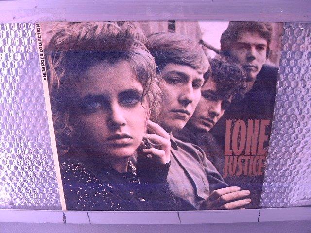 LONE JUSTICE lone justice LP 1985 ROCK SEMI-NOVO MUITO RARO VINIL