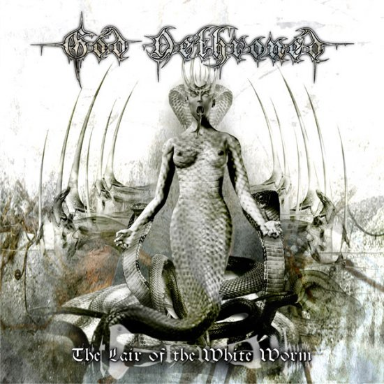 GOD DETHRONED the lair of the white worm CD 2005 DEATH METAL