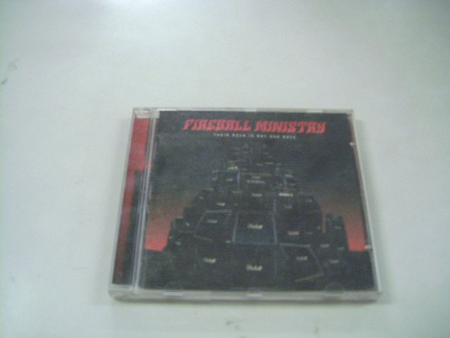 FIREBALL MINISTRY their rock is not our rock CD 2005 STONER ROCK