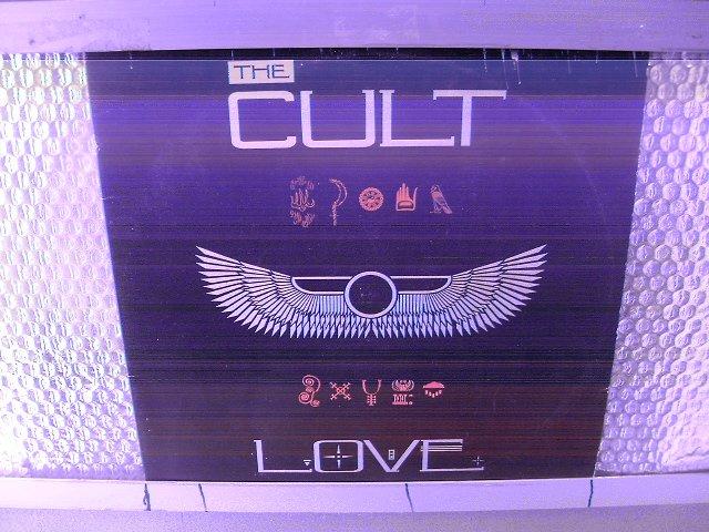 THE CULT love LP 1985 P�S PUNK MUITO RARO VINIL