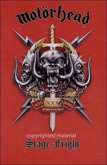 MOT�RHEAD stage fright 2DVD 2003 ROCK N' ROLL