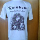 RAINBOW long live rock and roll T SHIRT BEIGE L