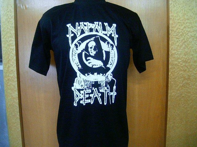 NAPALM DEATH T SHIRT BLACK L