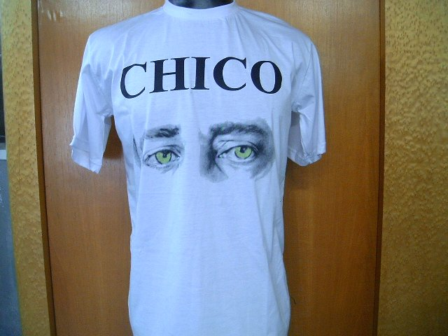 CHICO BUARQUE T SHIRT  WHITE L