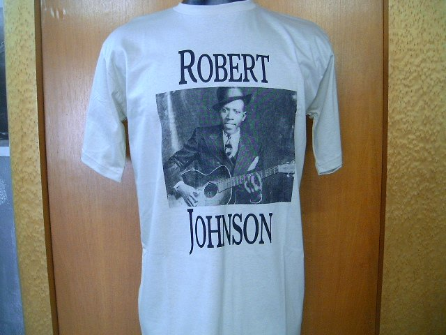 ROBERT JOHNSON T SHIRT   BEIGE    L