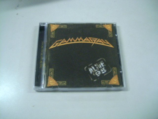GAMMA RAY alive 95 CD 1995 HEAVY METAL