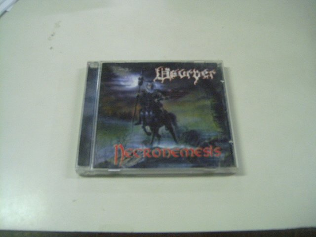 USURPER necronemesis CD 2002 DEATH METAL