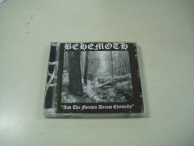 BEHEMOTH and the forests dream eternally CD 1997 BLACK METAL