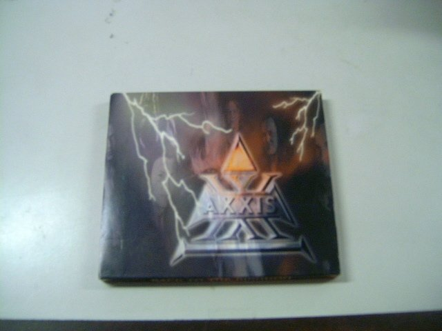 AXXIS back to the kingdom SLIPCASE CD 2000 HARD HEAVY