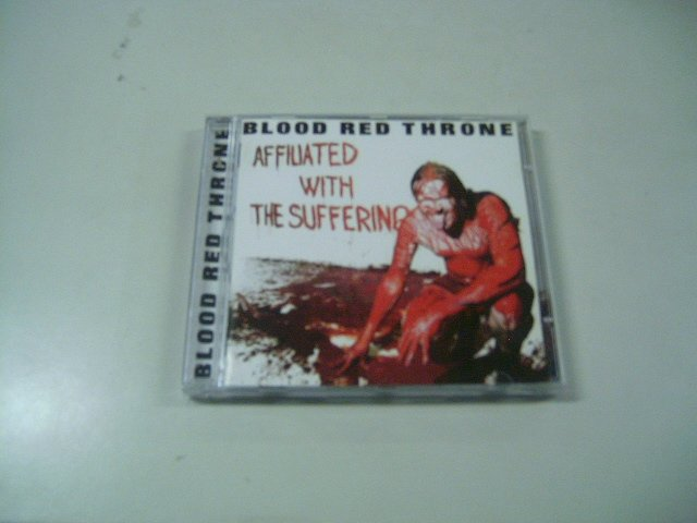 BLOOD RED THRONE affiliated with the suffering CD 2003 DEATH METAL