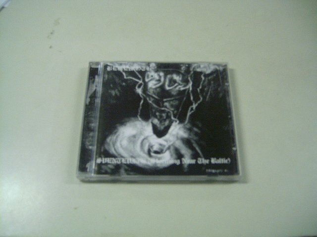 BEHEMOTH sventevith (storm near the baltic) CD 1994 BLACK METAL