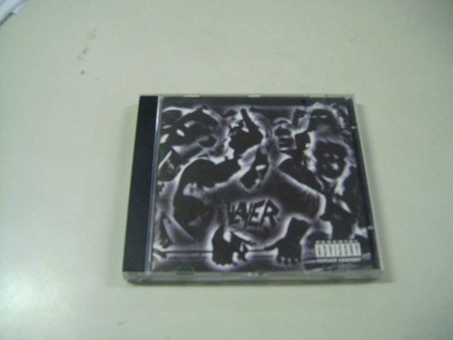 SLAYER undisputed attitude CD 1996 THRASH METAL