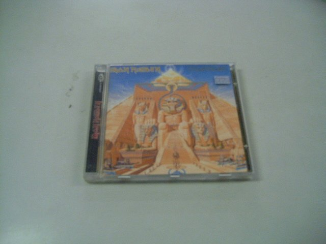 IRON MAIDEN powerslave CD 1984 HEAVY METAL