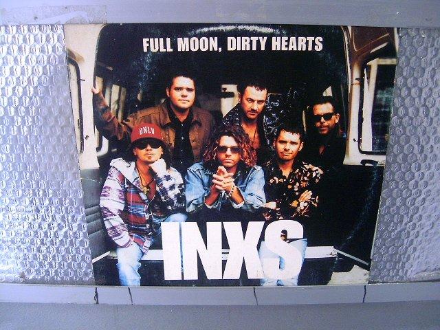 INXS full moon, dirty hearts LP 1993 ROCK POP