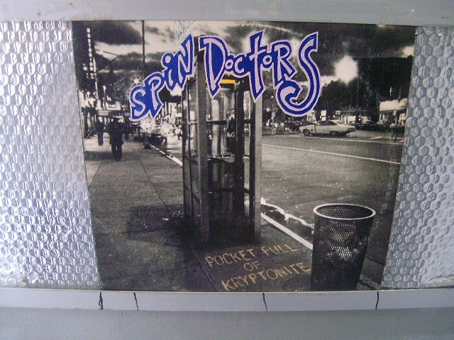 SPIN DOCTORS rocket full of kryptonite LP 1991 ALTERNATIVE ROCK