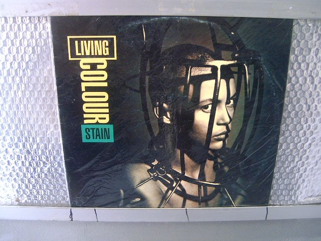 LIVING COLOUR stain LP  1993 HARD ROCK