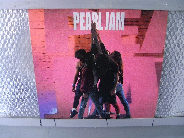 PEARL JAM ten LP 1991 ALTERNATIVE ROCK