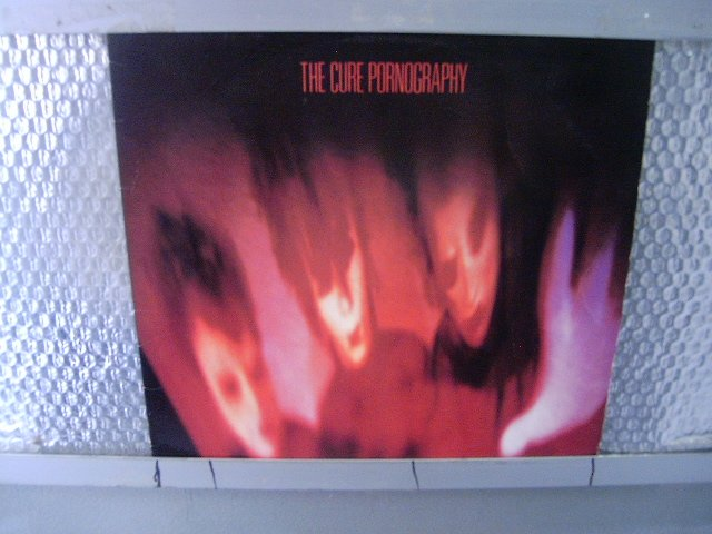 THE CURE pornography LP 1982 POS PUNK