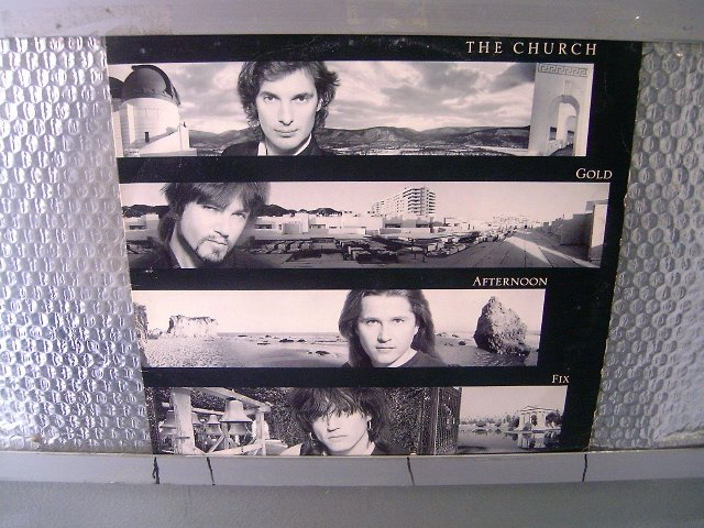 THE CHURCH gold afternoon fix LP 1990 POS PUNK