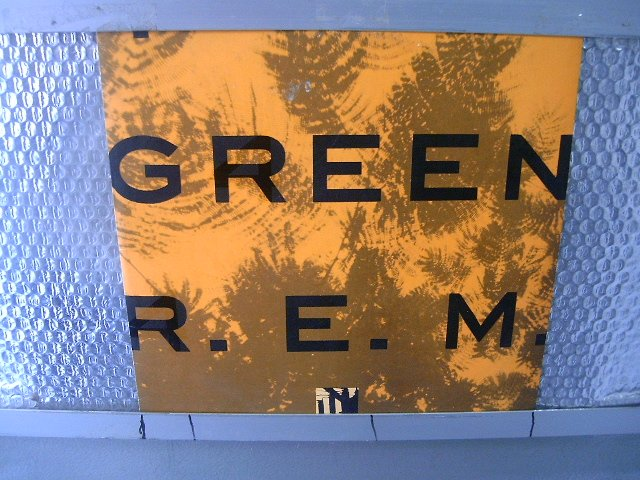 REM green LP 1989 ROCK POP