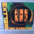 EXTREME 3 sides to every story 2LP 1992 HARD ROCK**