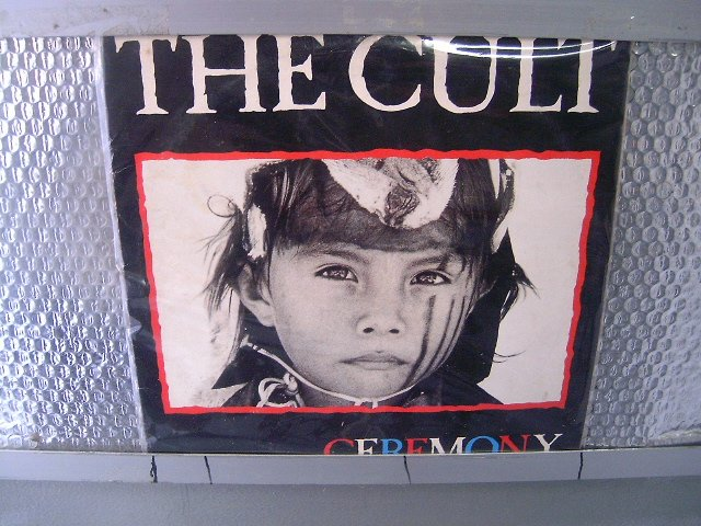 THE CULT ceremony LP 1991 HARD ROCK