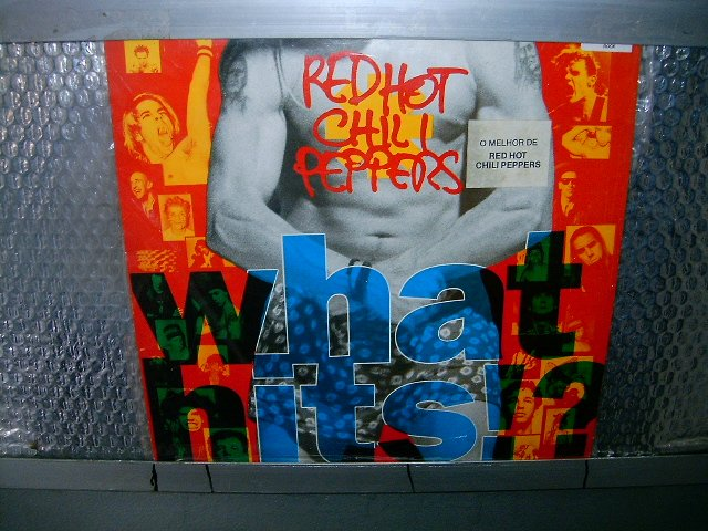 RED HOT CHILLI PEPPERS what hits !? LP 1992 FUNK ROCK