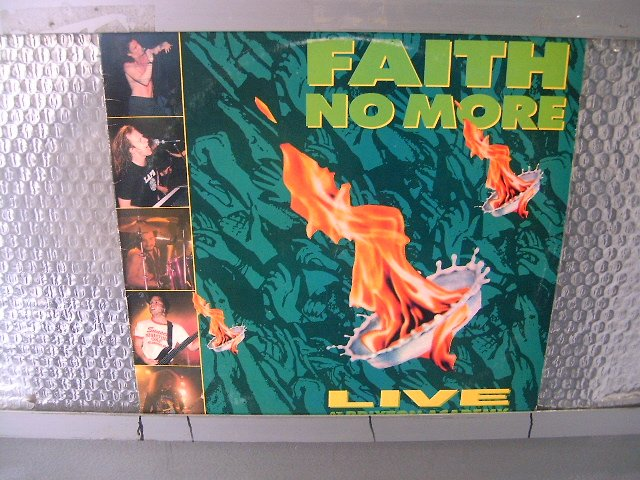 FAITH NO MORE live at the brixton academy LP 1991 ALTERNATIVE ROCK