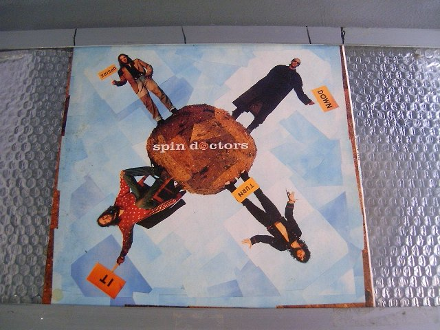 SPIN DOCTORS turn it upside down LP 1994 ROCK POP