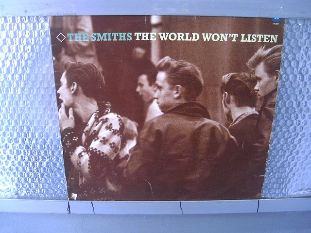 THE SMITHS the world won't listen LP 1987 POS PUNK