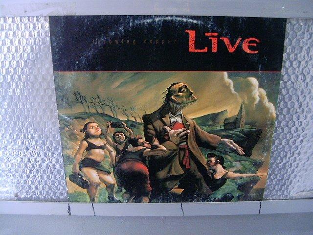 LIVE throwing copper LP 1994 ALTERNATIVE ROCK
