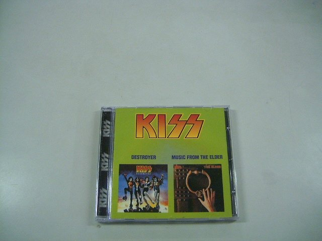 KISS destroyer - music from the elder CD 1976 1981 HARD ROCK