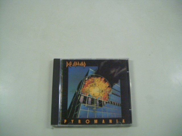 DEF LEPPARD pyromania CD 1983 HARD HEAVY METAL