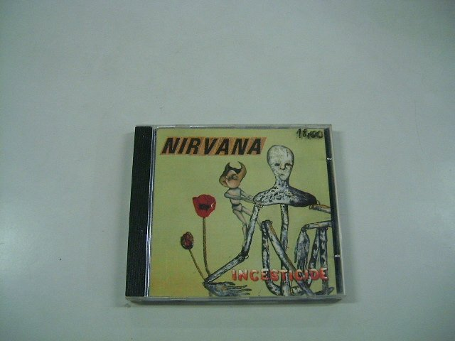NIRVANA incesticide CD 1992 ALTERNATIVE ROCK
