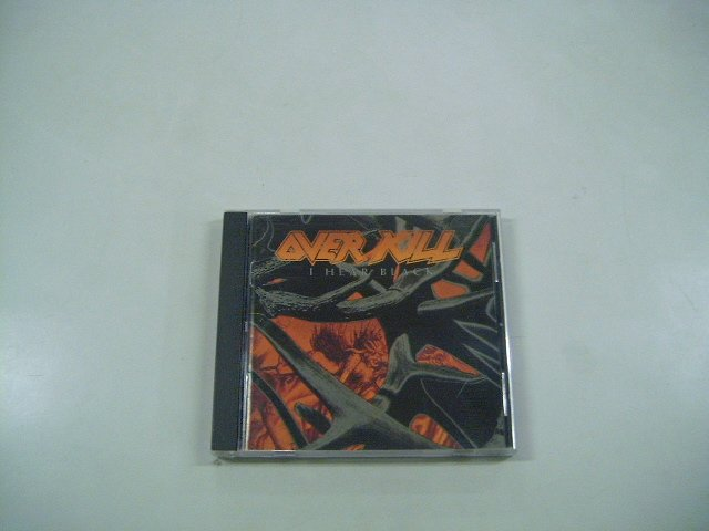 OVERKILL i hear black CD 1993 THRASH METAL