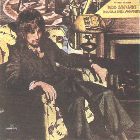 ROD STEWART never a dull moment CD FORMATO MINI VINIL CAPA DUPLA 1972 ROCK