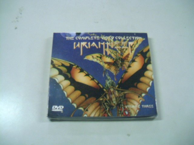 URIAH HEEP the complete video collection vol.3 2DVD 2006 ROCK