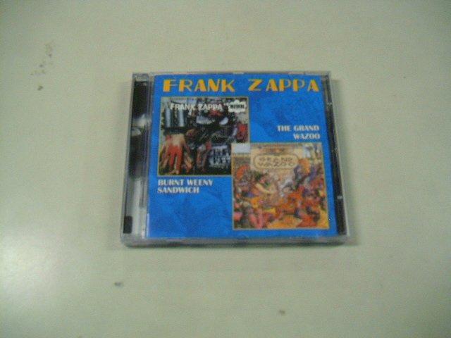 FRANK ZAPPA burnt weeny sandwich the grand wazoo CD 1970 1973 PSICHEDELIC JAZZ ROCK