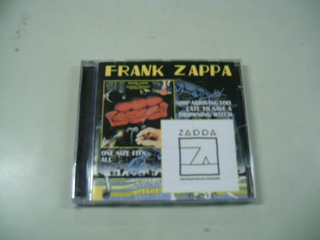 FRANK ZAPPA one size fits all ship arriving too late to save a drowning witch CD 1967 1969