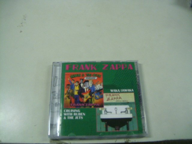 FRANK ZAPPA crusing with ruben & the jets CD 1968 1972 PSECHEDELIC JAZZ ROCK
