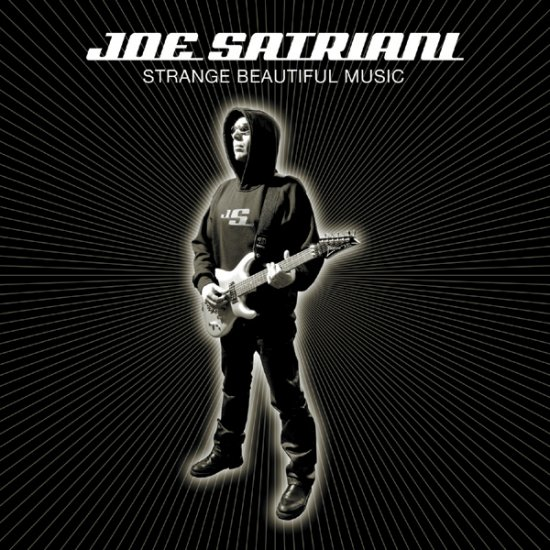 JOE SATRIANI strange beautiful music CD 2002 GUITAR BAND