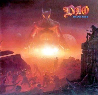 DIO the last in line CD FORMATO MINI VINIL 1984 HEAVY METAL