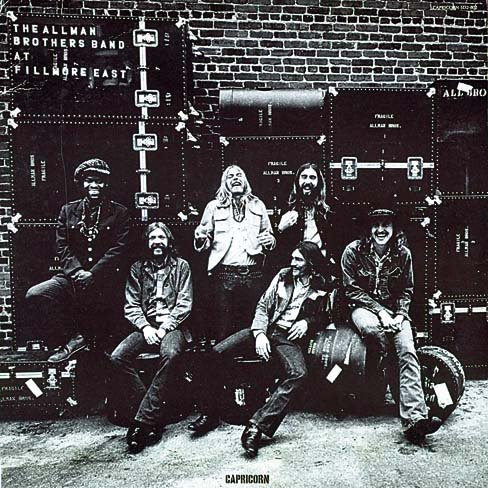 THE ALLMAN BROTHERS BAND live at fillmore east CD MINI VINIL 1979 SOUTHERN ROCK