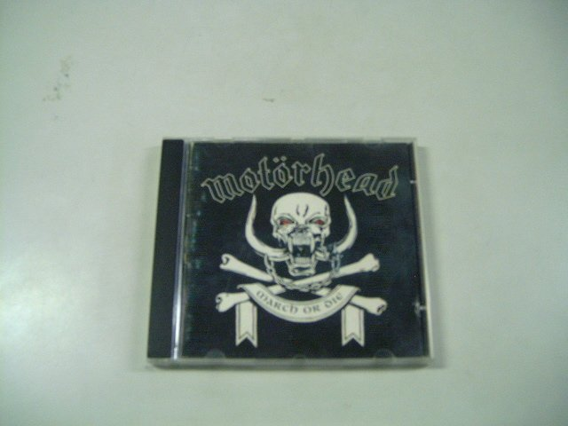 MOTORHEAD march or die CD 1992 ROCK