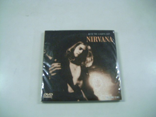 NIRVANA with the lights out voL.1 2CD + DVD 2007 ALTERNATIVE ROCK